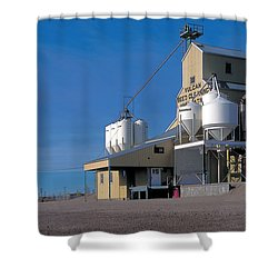 Vulcan 2 Shower Curtain by Terry Reynoldson