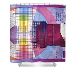 Vuurtoren Shower Curtain