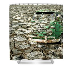 Vw Micro Mirage Shower Curtain