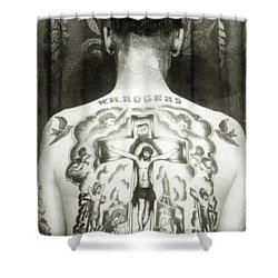 W H Rogers Clarksville Tennessee Shower Curtain by American Photographer