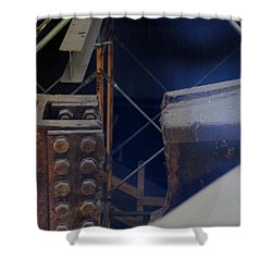W T C Steel  Shower Curtain by Rob Hans