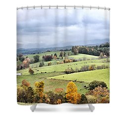 Waddletown Road Shower Curtain