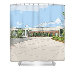 Wade Hampton High School Shower Curtain