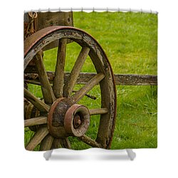 Wagons West Shower Curtain by Tikvah's Hope