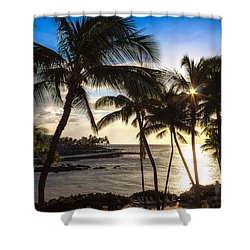 Waikoloa Sunset Shower Curtain