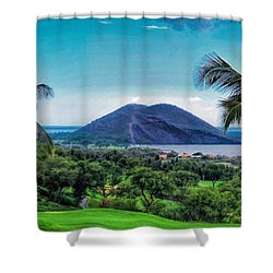 Wailea Golf 6 Shower Curtain