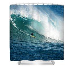Waimea Bay Hawaii Shower Curtain by Kevin Smith