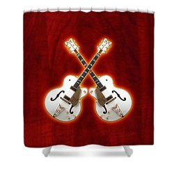 Waite Gretsch Shower Curtain by Doron Mafdoos