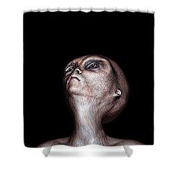 Waiting Shower Curtain by Bob Orsillo