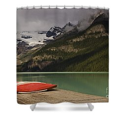Waiting Shower Curtain by Dee Cresswell