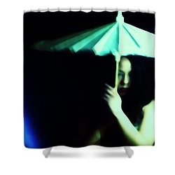 Waiting For A Chance Shower Curtain by Jessica Shelton