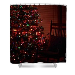 Waiting For Christmas Shower Curtain