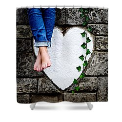 Waiting For Love Shower Curtain