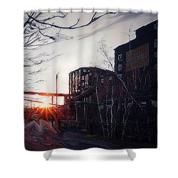 Waiting For Spring... Shower Curtain