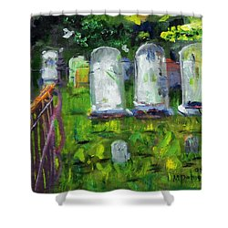 Waiting For You Shower Curtain