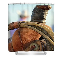 Waiting Game Shower Curtain by Steven Bateson