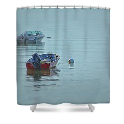 Waiting Shower Curtain by Karol Livote