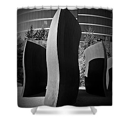 Wake 4 Shower Curtain by Chalet Roome-Rigdon