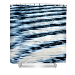Shower Curtain featuring the photograph Wake by Ramona Johnston