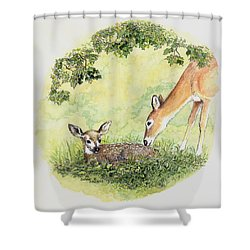 Wake Up Sleepyhead Shower Curtain