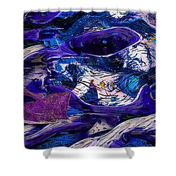 Waking In A Dream Shower Curtain by Jack Zulli