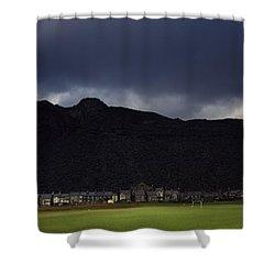 Wales Shower Curtain by Shaun Higson
