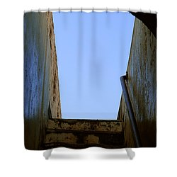 Walk To The Sky Shower Curtain