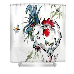 Walkabout Shower Curtain by Bill Searle