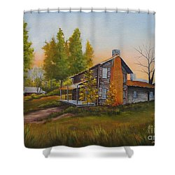 Walker Homeplace #3 Shower Curtain