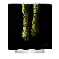 Walking In Clover Shower Curtain