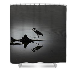 Walking On The Water Shower Curtain