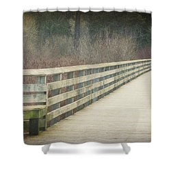 Walking Softly Shower Curtain