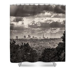 Walking The Sights Shower Curtain
