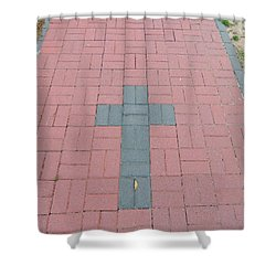 walkway of Faith Shower Curtain
