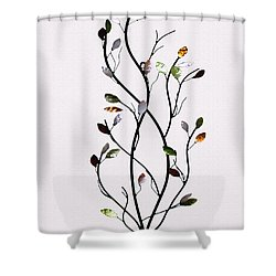 Shower Curtain featuring the photograph Wall Art 1 by Jennifer Muller