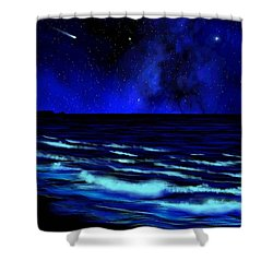 Wall Mural Bali Hai Tunnels Beach Kauai Shower Curtain