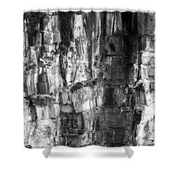 Shower Curtain featuring the photograph Wall Of Rock by Miroslava Jurcik