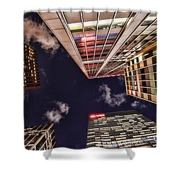 Wall Street Shower Curtain by Paul Ward