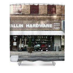 Wallin Hardware Shower Curtain