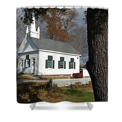 Shower Curtain featuring the photograph Walnut Grove by Mim White