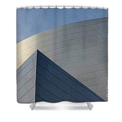 Walt Disney Concert Hall 3 Shower Curtain by Bob Christopher