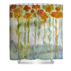 Waltz Of The Flowers Shower Curtain