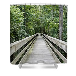 Shower Curtain featuring the photograph Wander by Laurie Perry