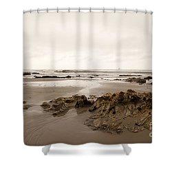Wandering Shower Curtain by Amanda Barcon