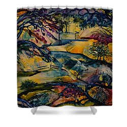 Wandering Woods Shower Curtain