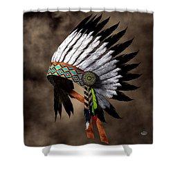 War Bonnet Shower Curtain