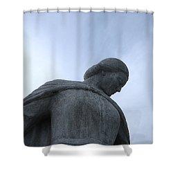 War Memorial  Shower Curtain by Cheryl Hoyle