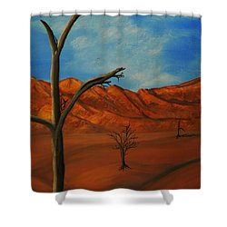 War Remains Shower Curtain by Barbara St Jean