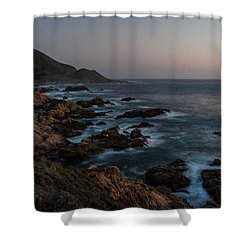 Warm California Evening Shower Curtain by Mike Reid
