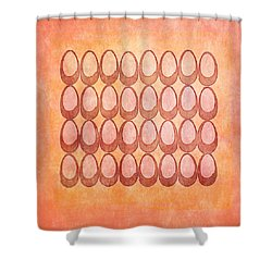 Warm Eggs Shower Curtain